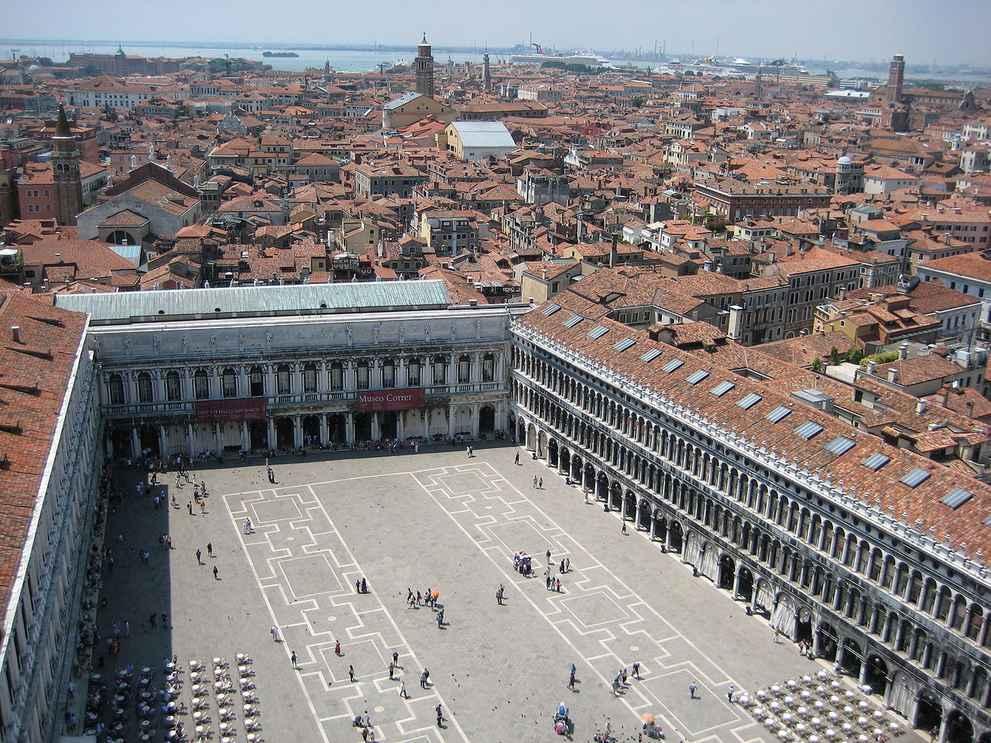 Центр и ближайшие к нему кварталы Венеция (фото)